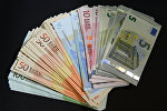 Евро купюралары, архивдик сүрөт