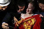 Чемпион UFC боец из Кыргызстана Валентина Шевченко. Архивное фото
