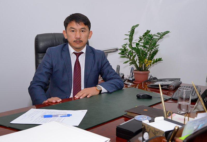 Директор Государственного агентства антимонопольного регулирования при Правительстве Кыргызской Республики Болсунбек Казаков.