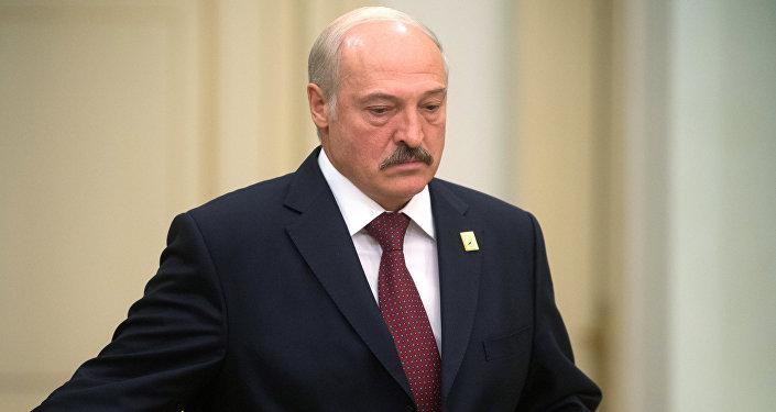 Архивное фото президента Белоруссии Александра Лукашенко