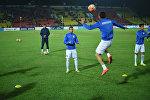 Футболисты сборной Кыргызстана во время тренировок. Архивное фото