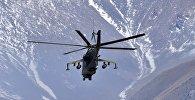 Архивное фото аертолёта МИ-24