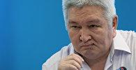 Экс-премьер-министр жана Улуттук коопсуздук кызматынын (азыркы УКМК) мурдагы төрагасы Феликс Кулов. Архивдик сүрөт