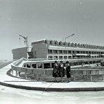 Фрунзе аэропортунун бардык кызматтары 1981-жылы Манас аба майданына өткөрүп берилген