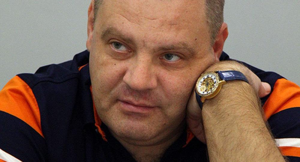 Руководитель общественного фонда Мир Евразии (Казахстан) Эдуард Полетаев. Архивное фото