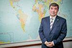Жарандык авиация агенттигинин директору Эрмек Өмүралиевдин архивдик сүрөтү