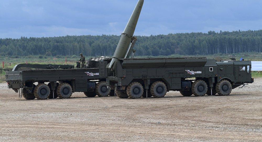 Ракетный комплекс Искандер-М. Архивное фото