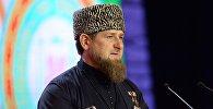 Архивное фото главы Чечни Рамзана Кадырова