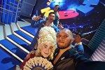 Азия MIX командасы КВНдин жарым финалдык оюнунда
