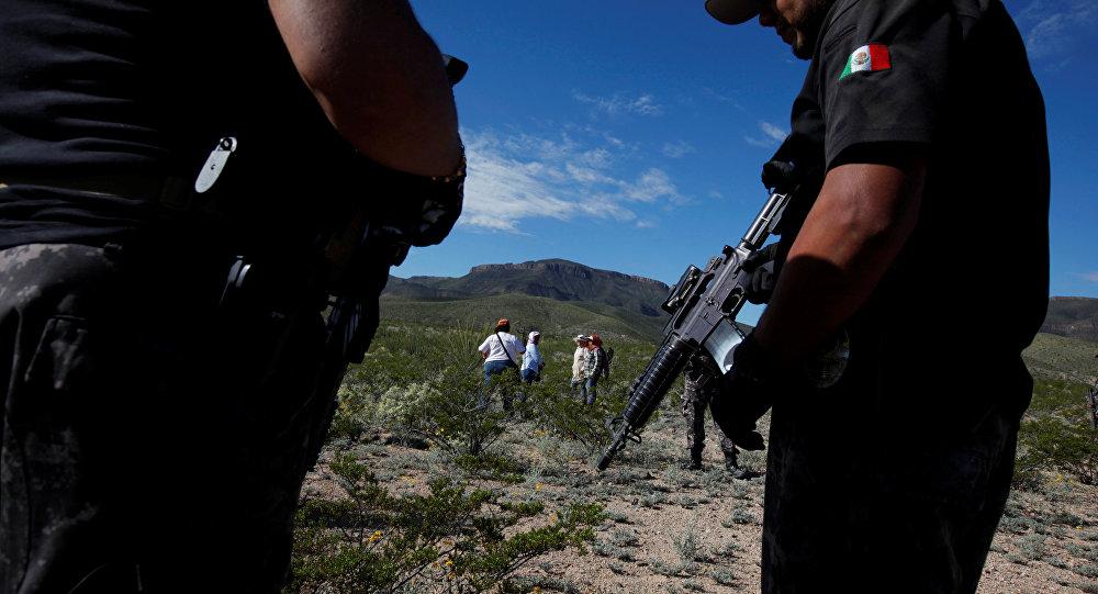 Мексиканын полиция кызматкерлери. Архив