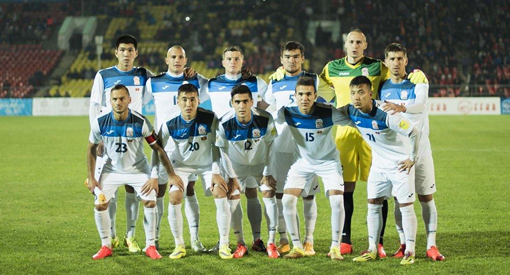 Футболисты сборной Кыргызстана. Архивное фото