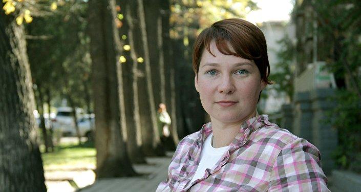 Корреспондент Вечернего Бишкека и волонтер Надежда Хохлова