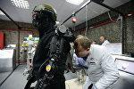 Архивное фото демонстрации новейших военных технологий в России