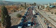 Бег тысяч — аэросъемка массового забега на 5 км в Бишкеке