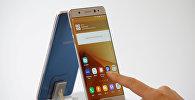 Презентация смартфона Galaxy Note 7 от Samsung Electronics. Архивное фото