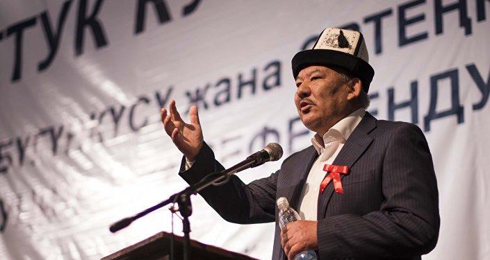 Экс-депутат Азимбек Бекназаров. Архивное фото