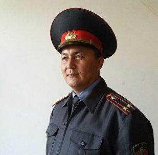 Ош шаардык ички иштер башкармалыгынын маалымат катчысы Замир Сыдыков