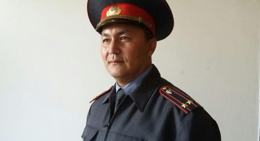 Ош ШИИБдин маалымат катчысы Замир Сыдыковдун архивдик сүрөтү