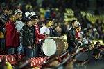 Болельщики сборной Кыргызстана по футболу. Архивное фото