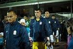 Кыргызстаднын футбол боюнча курама командасынын оюнчулары. Архив