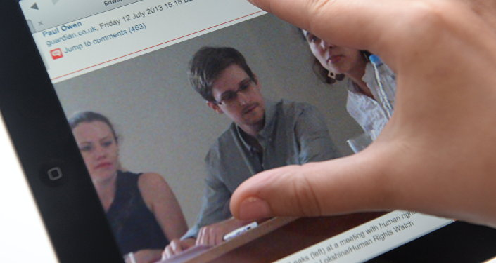 Бывший сотрудник американских спецслужб Эдвард Сноуден. Архивное фото