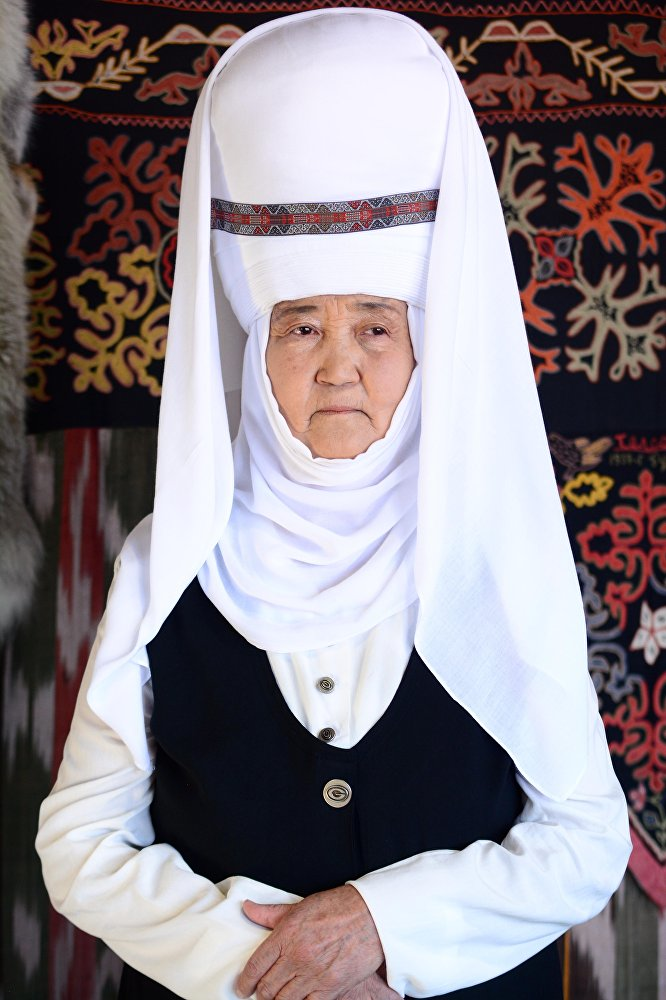Бүбүсара Абдугулова, пенсионер