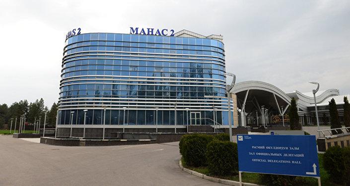 Терминал аэропорта Манас 2. Архивное фото