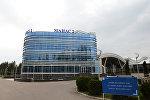 Терминал аэропорта Манас 2 в Бишкеке. Архивное фото