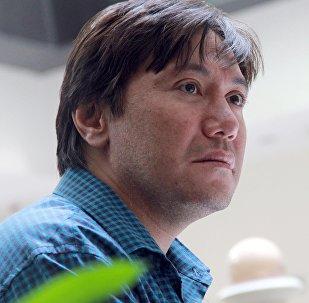 Кыргызстандын белгилүү актер Азиз Мурадиллаевдин архивидк сүрөтү