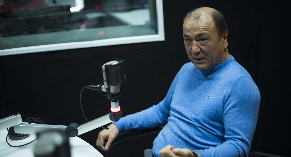 Бывший глава МВД Мелис Турганбаев. Архивное фото