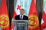 Официальный визит президента КР Алмазбека Атамбаева в Грузию