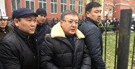 Архивное фото бывшего спикера парламента Кыргызстана Ахматбека Келдибекова