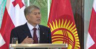 Атамбаев рассказал, из-за чего в КР может случиться третья революция