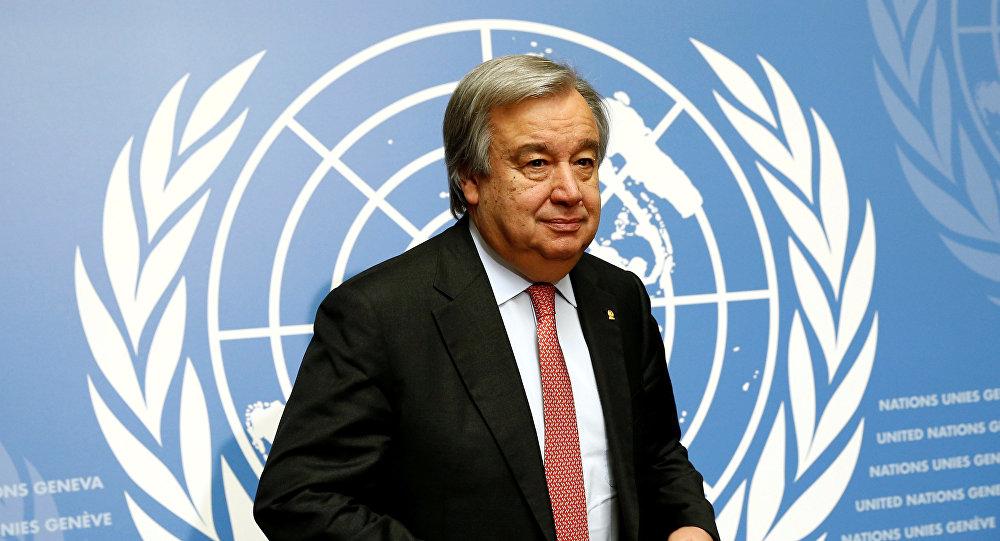 Генеральный секретарь ООН Антониу Гуттереш. Архивное фото