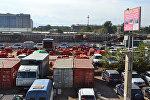 Бишкектин Товарная көчөсүндө жайгашкан Дыйкан-Пишпек базары
