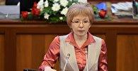 Архивное фото депутата ЖК 6 созыва Евгении Строковой от партии СДПК