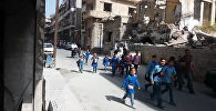 Мирная жизнь в освобожденном от ИГ Хомсе: ремонт домов и дети на улицах
