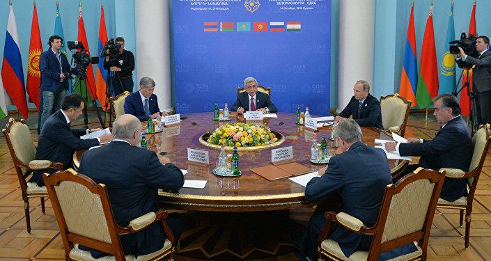 Заседание Совета коллективной безопасности ОДКБ в Ереване