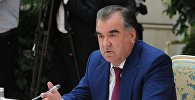 Архивное фото президента Республики Таджикистан Эмомали Рахмона