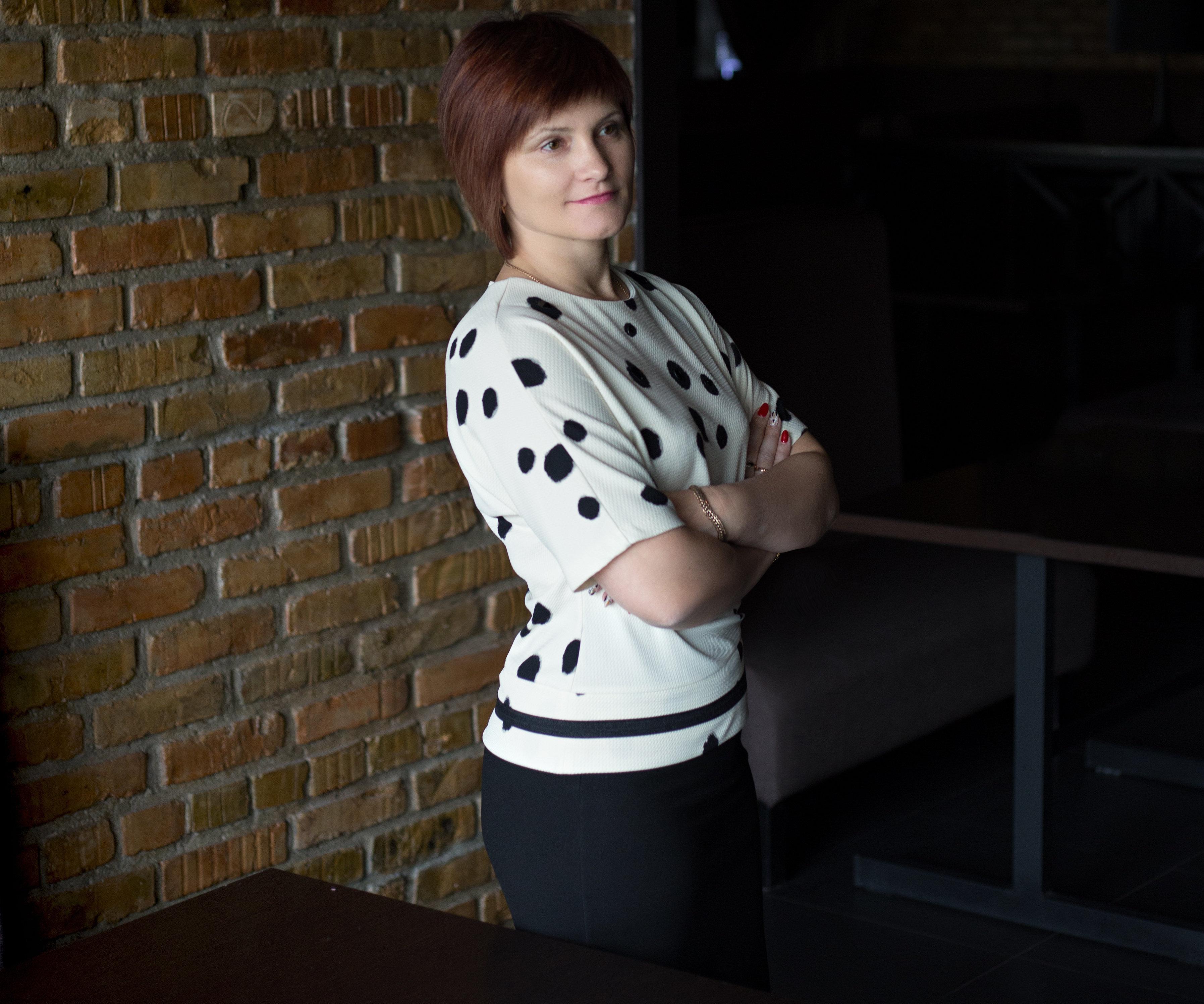 Генеральный директор сети заведений Империя пиццы Наталья Бахарева