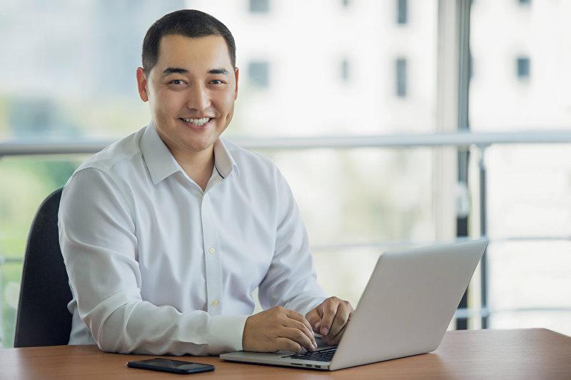 Генеральный директор ООО Скай Мобайл Ернар Накисбеков (TM Beeline в Кыргызстане)