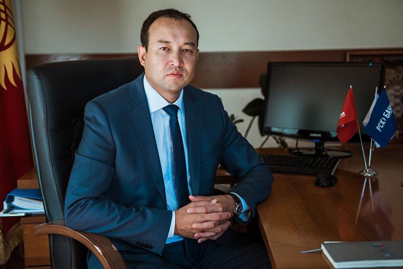 Председатель правления ОАО РСК Банк Оморкулов Азизбек