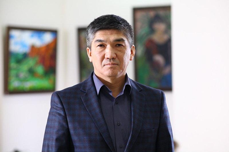 Архивное фото председателя правления ОАО Международный аэропорт Манас Эмира Чукуева