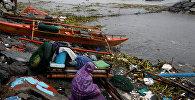 Последствия сильного шторма в Филиппинах