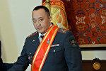 Ички иштер министринин орун басары Данияр Абдыкаров