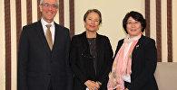 Первый заместитель главы МИД КР Динара Кемелова обсудила с главами дипломатических представительств оптимизацию работы БДИПЧ