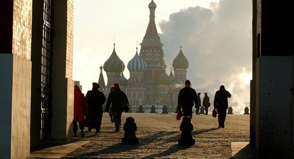 Москва шаарындагы Кызыл аянт. Архивдик сүрөт