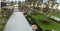 Проект реставрации фонтана Золотые рыбки и территории вокруг него
