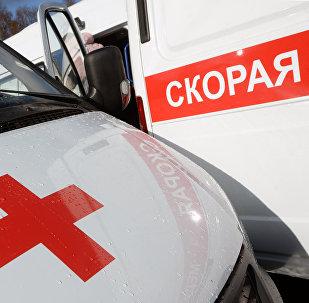 Автомобили скорой помощи. Архивное фото