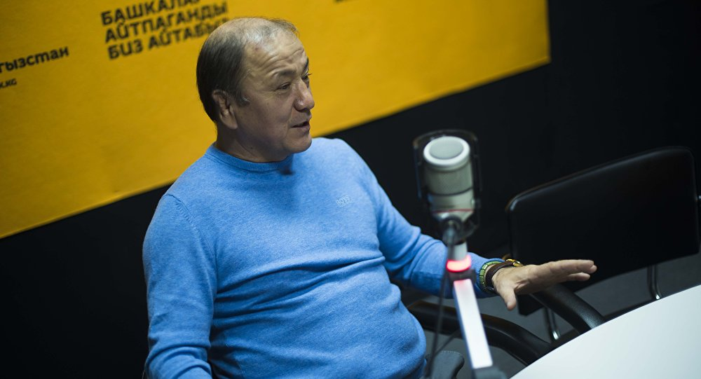 Экс-министр внутренних дел, вице-президент Федерации спортивной борьбы КР Мелис Турганбаев